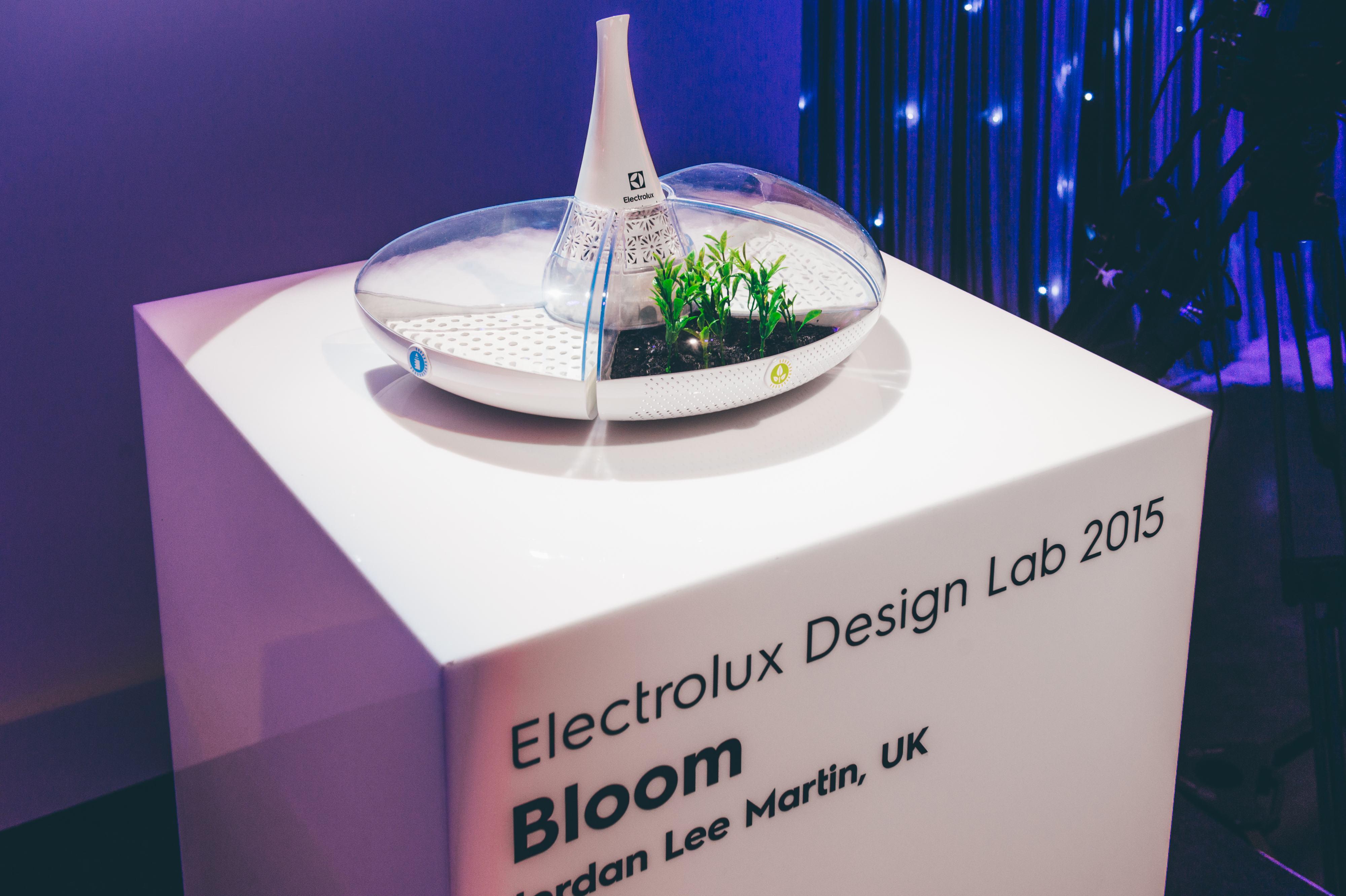 """Das Konzept """"Bloom"""" siegte beim Design Lap 2015 von Electrolux."""