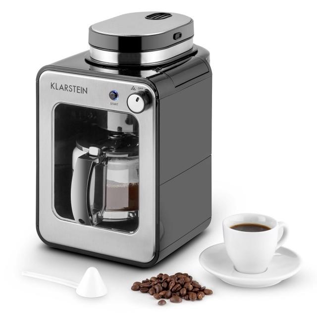 Die Klarstein Congenio Kaffeemaschine in Schwarz