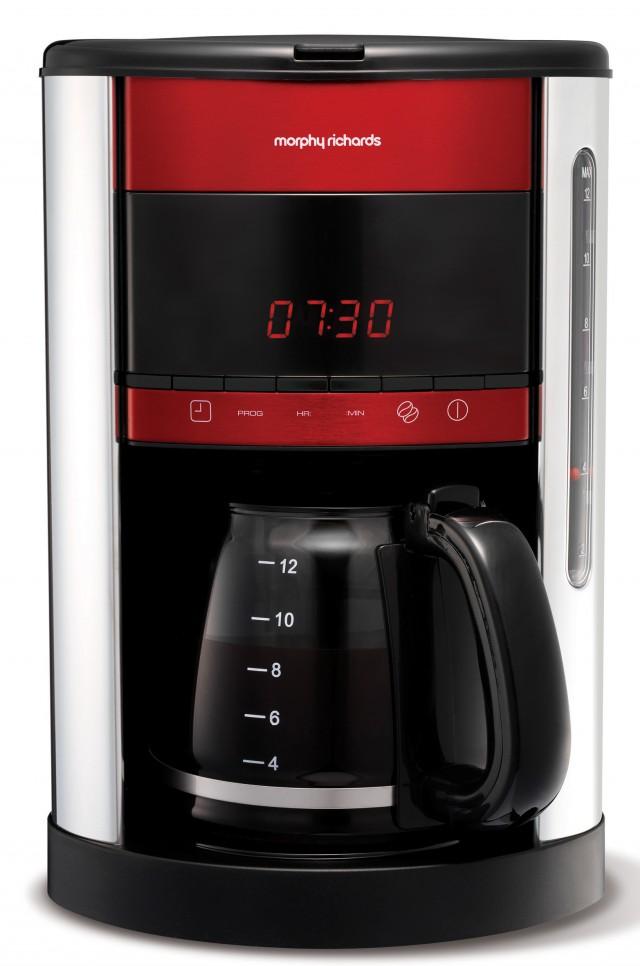 Morphy Richards Kaffeemaschine Accents ist eine Filterkaffeemaschine.