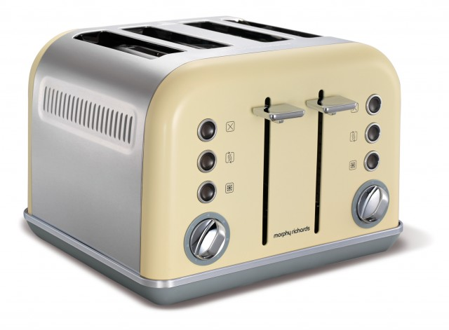 Morphy Richards Toaster Accents im Retro-Design.