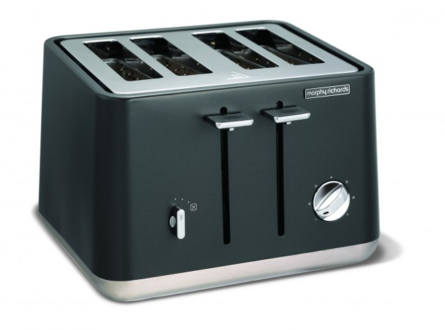 Morphy Richards Toaster Aspect mit 4 Toastkammern.