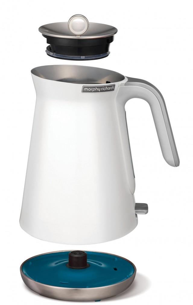 Morphy Richards Wasserkocher Aspect mit 2200 Watt Leistung.