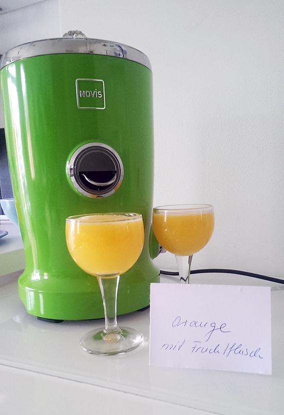 Novis Vita Juicer Orangensaft