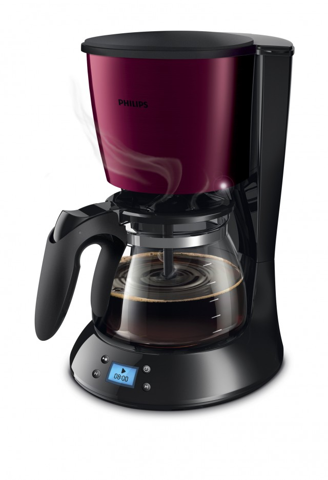 Die Philips Daily Collection Kaffeemaschine HD7459/31 mit AromaSwirl