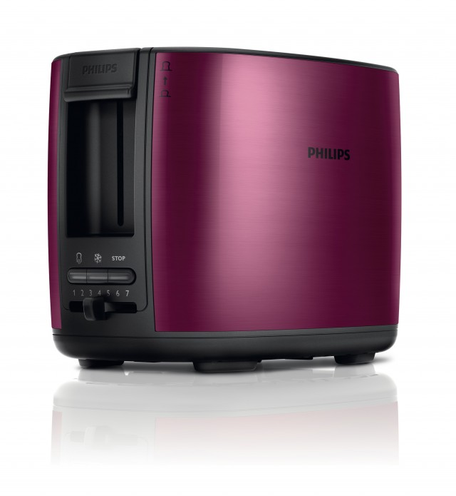 Der Philips Viva Collection Toaster HD2628/09 für optimales Toasten
