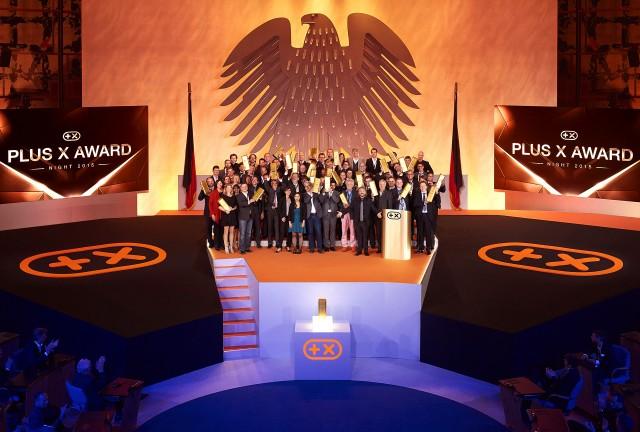 Plus X Award - Siegerehrung 2015