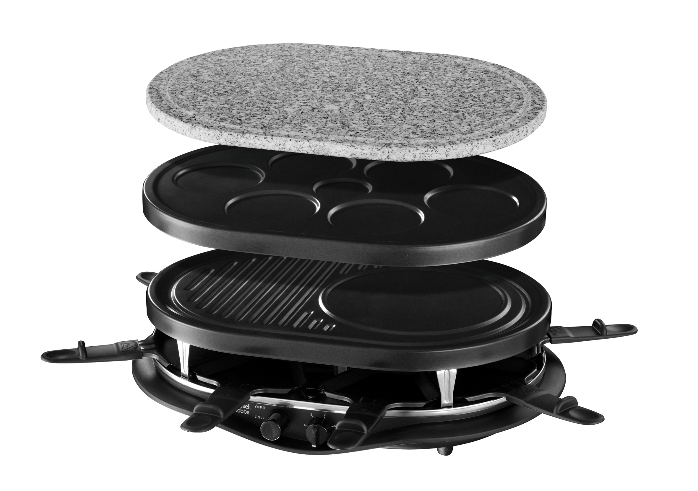 russell hobbs fiesta multi raclette 21000 56 multi. Black Bedroom Furniture Sets. Home Design Ideas