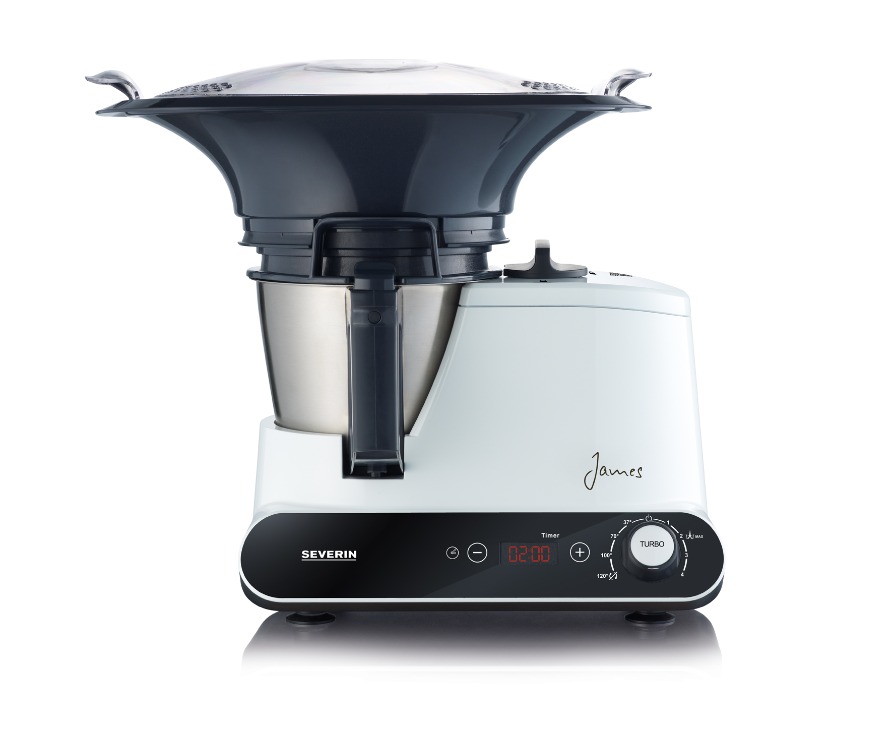 Severin k chenmaschine james the wondermachine for Robot de cocina silvercrest