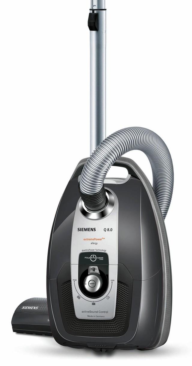 Siemens Staubsauger Q 8.0 VS Q8530 extremePower Plus mit 4 x EU-Bewertung A.