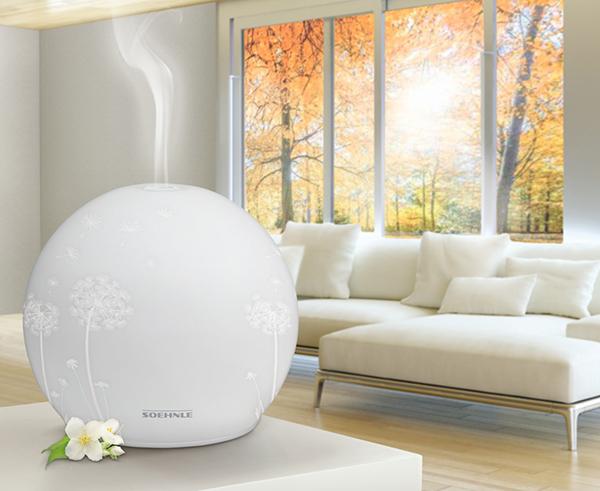 Der Soehnle Aroma-Diffuser Venezia Limited Edition in Weiß