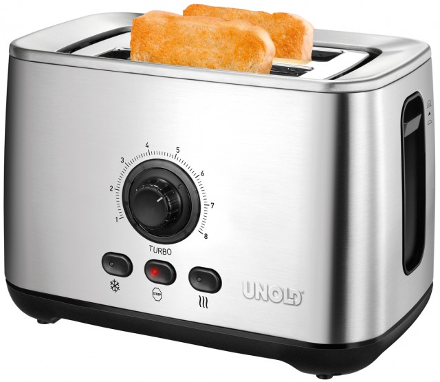 Unold Toaster Turbo mit Turbo Funktion.