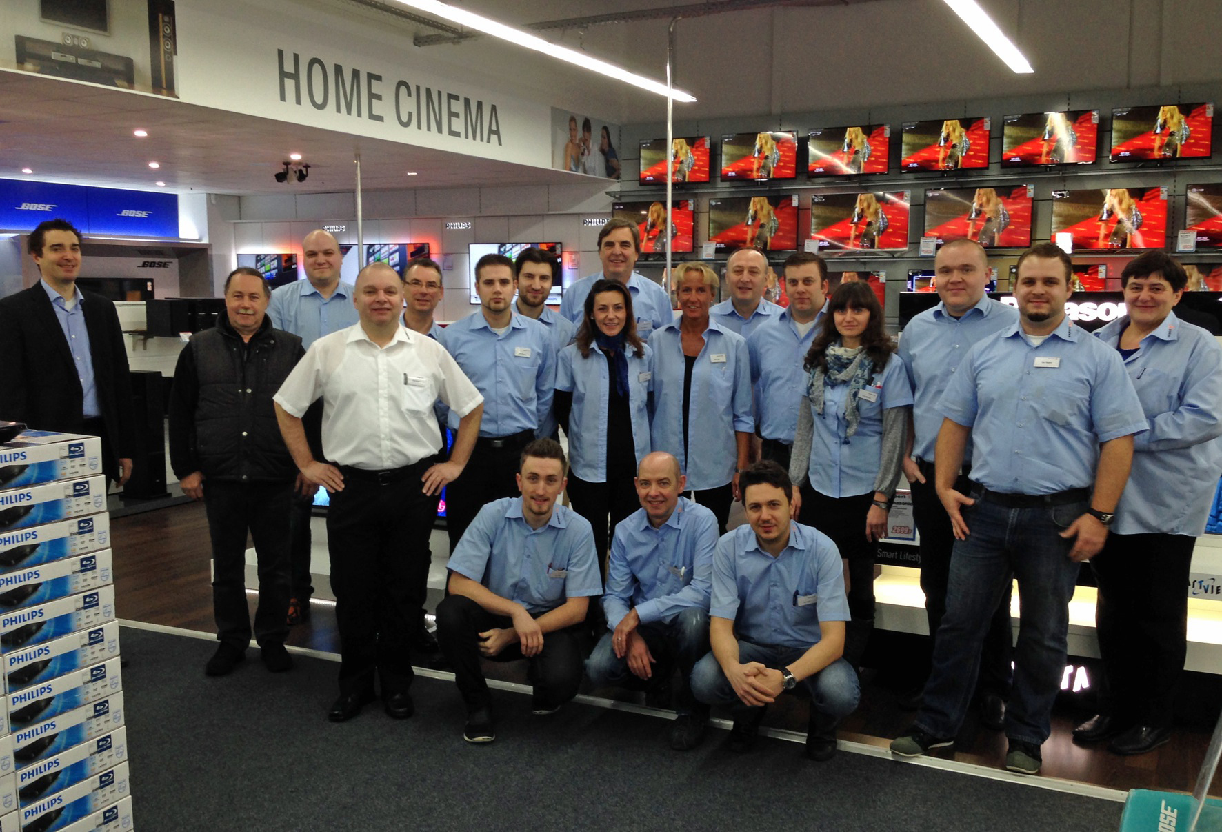 In Dormagen wurden 2013 alle ProMarkt-Mitarbeiter übernommen. Der Umbau verlief auch dank des eingespielten Teams reibungslos.
