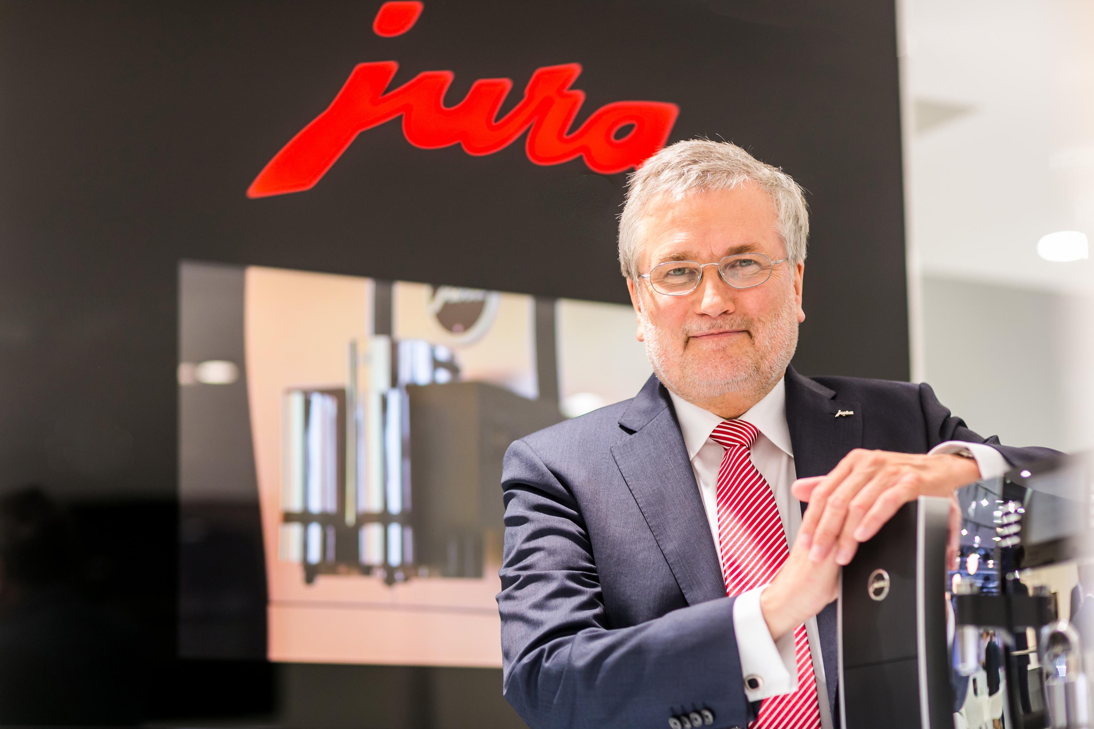 Freut sich über die Auszeichnung: Rolf Diehl, Geschäftsführer der Jura Vertriebs GmbH.