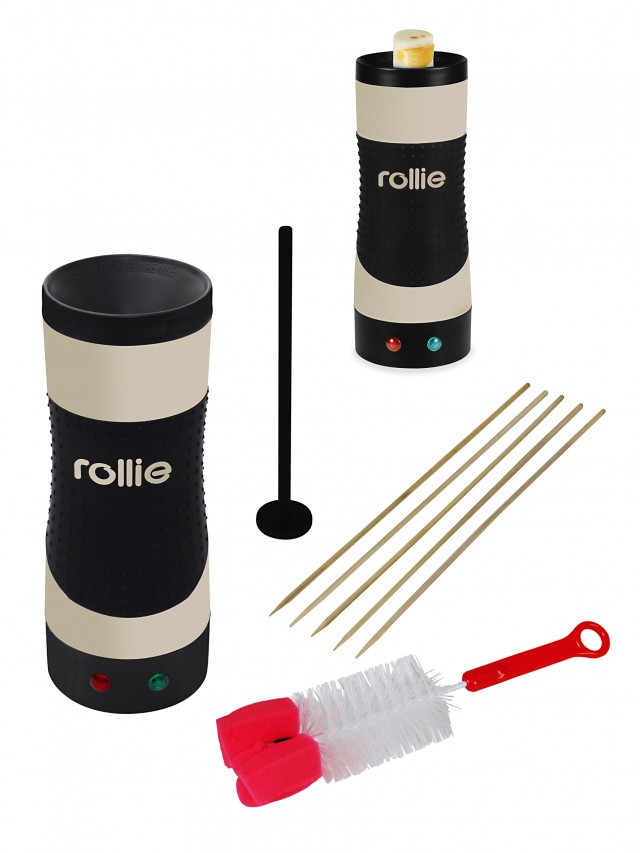 Kalorik Eierkocher Rollie Eggmaster mit Vertikal-Koch-Technologie.