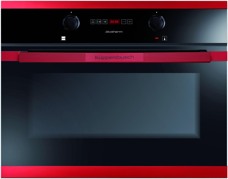"""Der Einbau-Backofen EEBK 6260.0JX8 von Küppersbusch setzt in """"Hot Chili"""" Akzente in der Küche."""