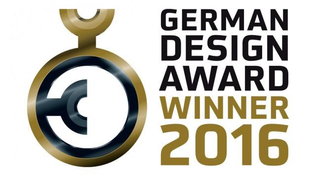 Logo German Design Award Winner 2016