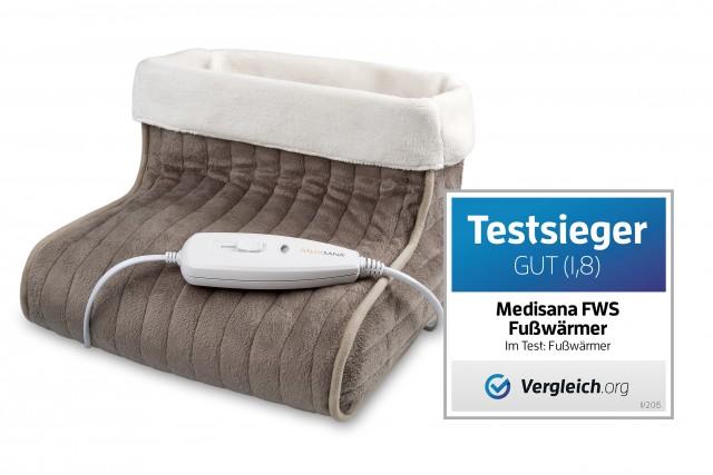 Testsieger: Fußwärmer FWS von Medisana