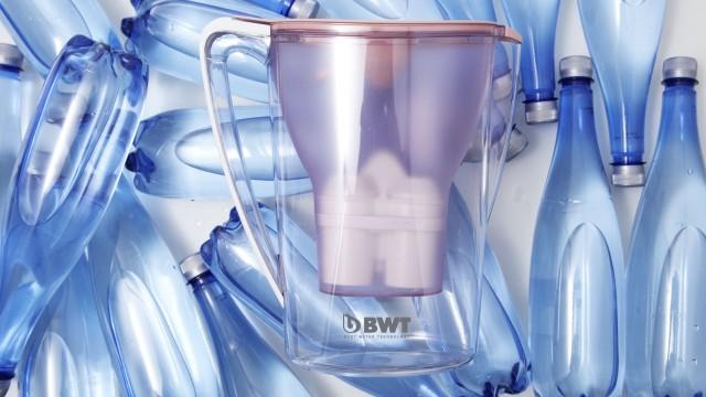 Eine BWT-Filterkartusche ersetzt bis zu 120 Platikflaschen.