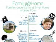 Lifert je nach Standpunkt die komplette Überwachung oder beruhigt das Gewissen: GreenPeak Family@Home Lifestyle-App
