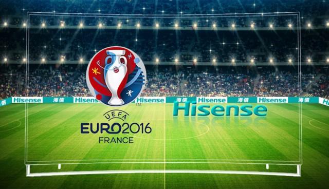 Ein Top-Team: Hisense und Fußball.