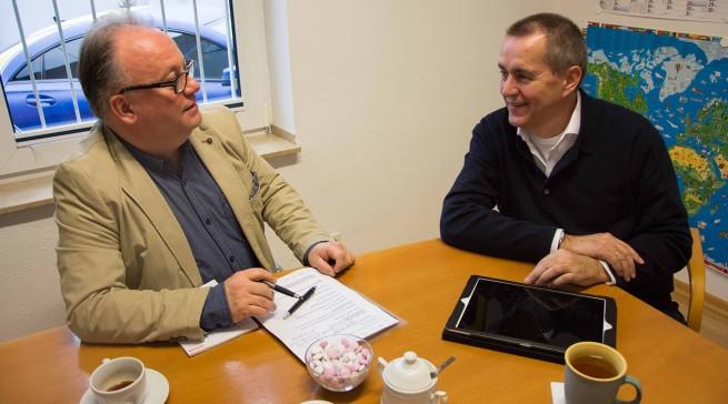 Im Branchen-Dialog: Dirk Wittmer sprach zum Jahresanfang über Multichannel und stationären Erlebnishandel.