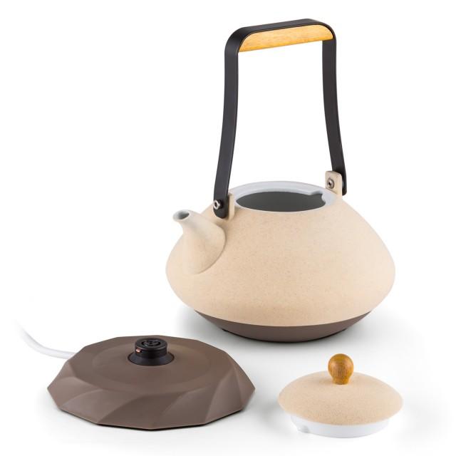 Klarstein Wasserkocher Asuka aus hochwertiger Keramik