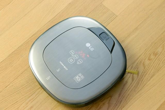 Ihm entgeht kein Dreck und auch sonst hat er alles im Blick: HomBot Turbo+ von LG.