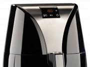 Die Rosenstein & Söhne Digitale Heißluftfritteuse 1200 Watt in Schwarz