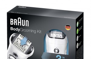 Braun Body Grooming Kit Serie BGK mit Smartlight.