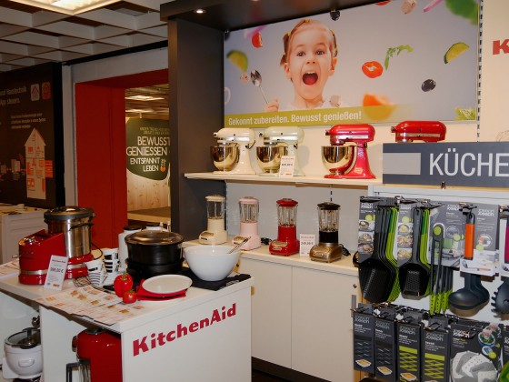 KitchenAid war auf der EK LIVE in aller Munde.