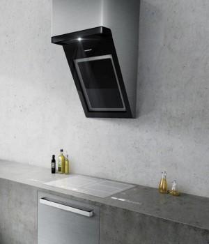 Für eine puristisch-elegante Küche: Das Bediensystem VUX von Grundig.