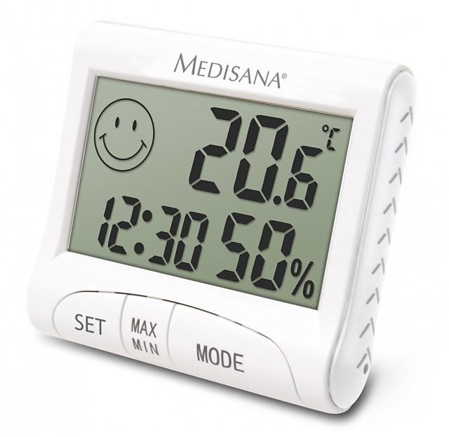 Medisana Digital Thermo-Hygrometer HG 100 mit Speicherfunktion.