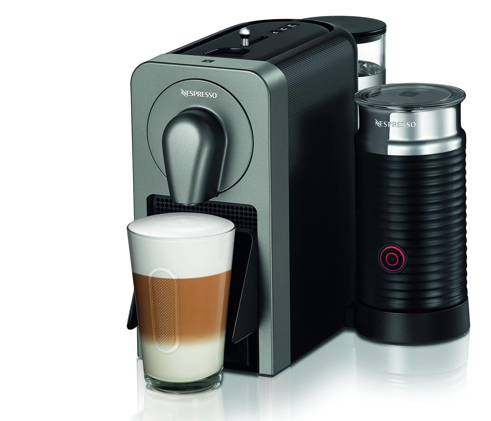 nespresso kaffeemaschine prodigio milk. Black Bedroom Furniture Sets. Home Design Ideas
