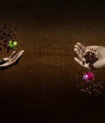 Für die Nespresso Limited Edition 2016 wurden zwei Kaffeeanbaugebiete ausgewählt, die unterschiedlicher kaum sein können: Kiwusee in Ruanda (l.) und Chiapas in Mexiko (r.).