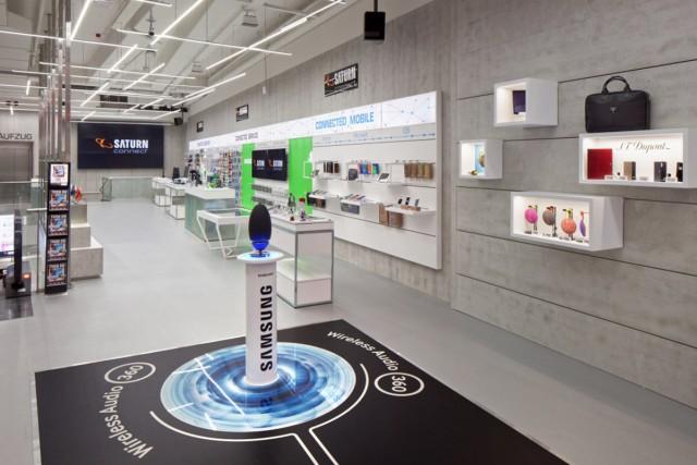 Beispiel gebend und Richtung weisend: Saturn Connect in Köln.