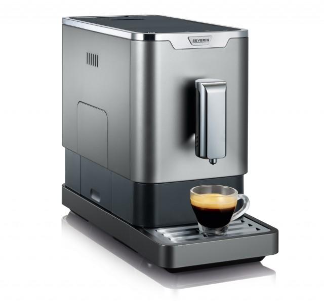 Severin Kaffeevollautomat KV 8090, schlank und schick