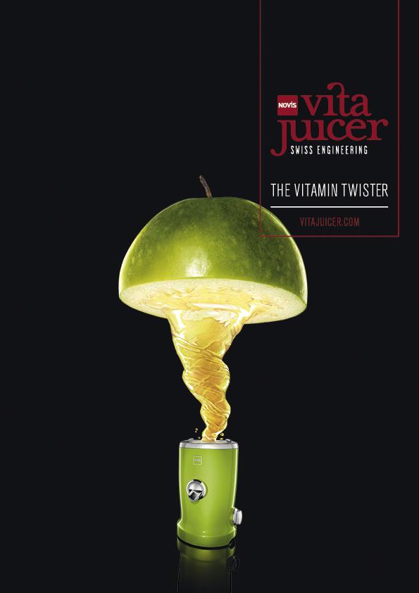 Eindrucksvoll durch den Plus X Award prämiert: Der Vita Juicer von Novis.