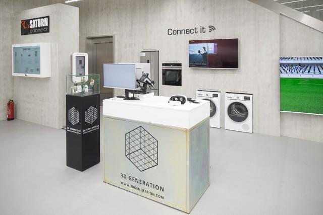 Auch vernetze Hausgeräte für Küche und Waschküche zählen zum Angebot der Kölner Filiale. (© Martin Hangen)