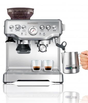 Gastroback Espressomaschine Espresso Advanced Pro GS mit ULKA Espressopumpe.