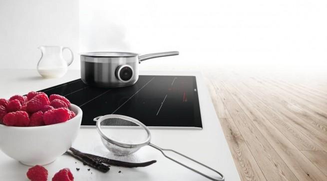 Ausgezeichnet: Sensor-Induktionskochfeld der Serie 8 von Bosch.