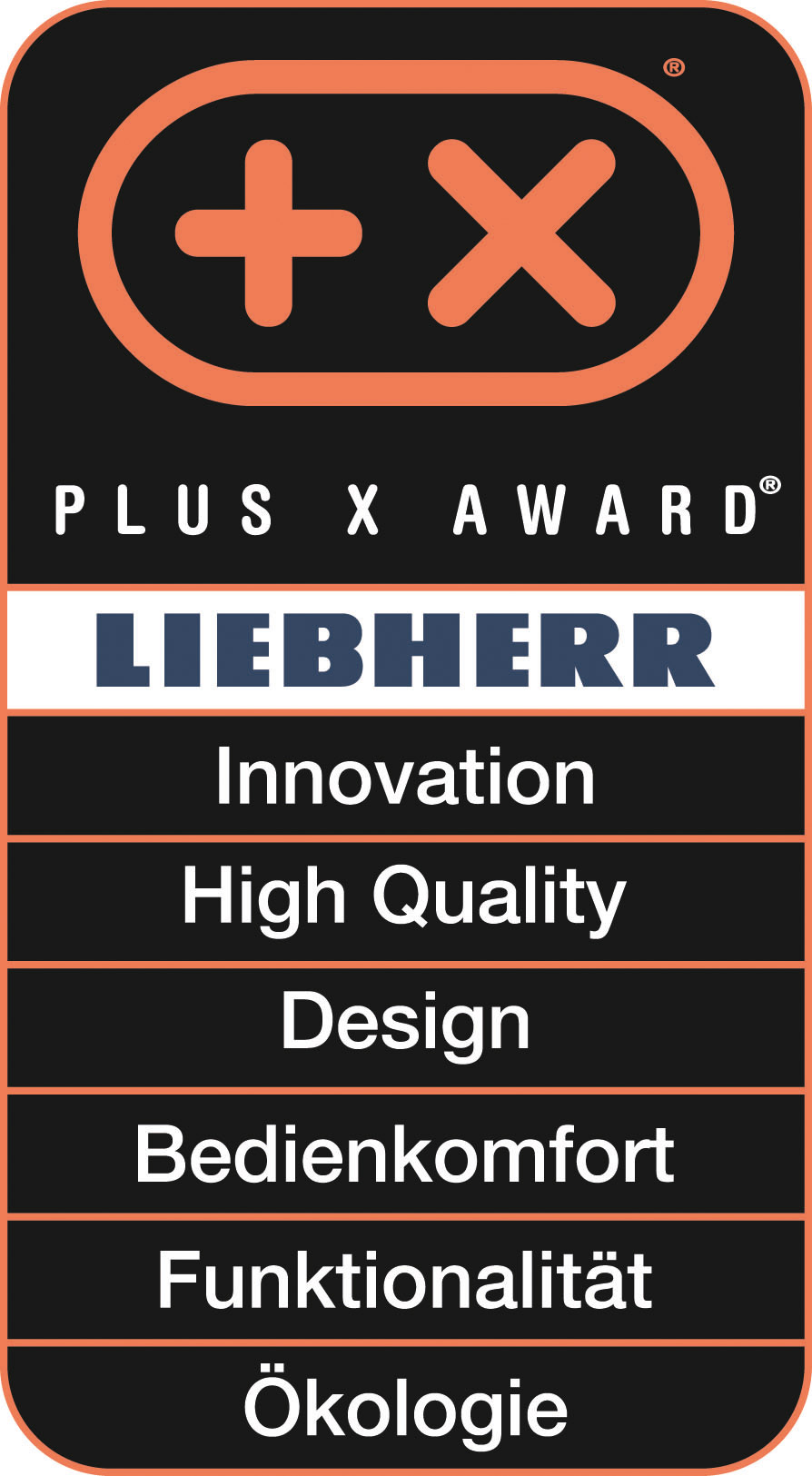 Plus X Award 2016 - Liebherr