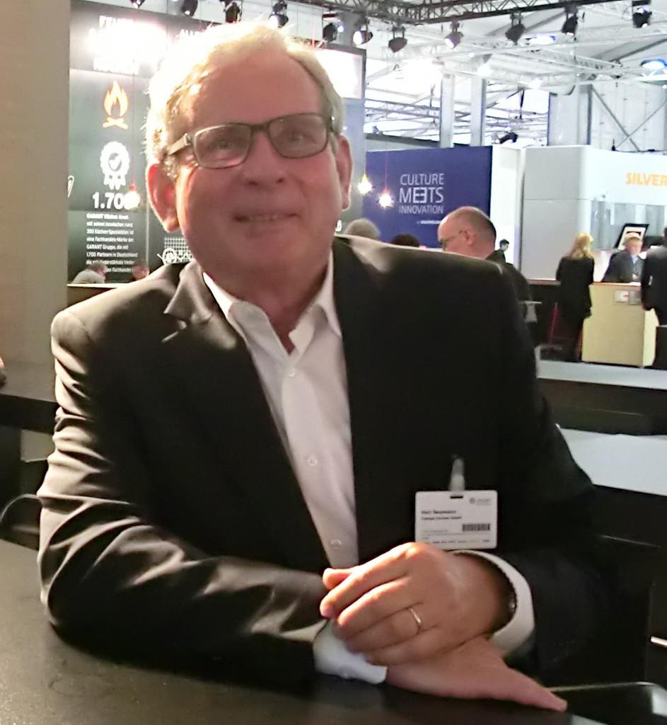Bernd Neumann, über 10 Jahre bei Liebherr, bringt seine ganze Erfahrung als Projektleiter bei Stengel Küchen ein.