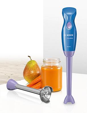 Bosch Stabmixer CleverMixx Baby mit Mini-Mixfuß.