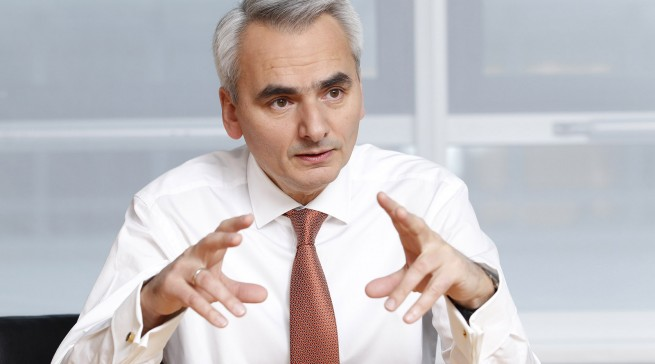 Matthias Ginthum ist in der BSH-Geschäftsführung unter anderem für Vertrieb und Markenmanagement verantwortlich.
