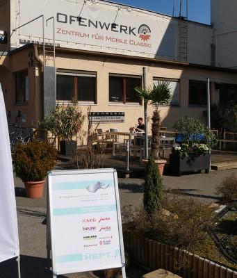 Auftakt in Nürnberg: Die diesjährige HEPT startete am 11. April im Ofenwerk.