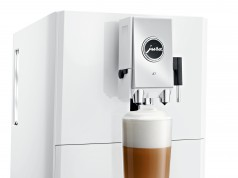 Jura Kaffeevollautomat A7 mit Puls-Extraktionsprozess.