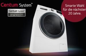 LG Waschmaschine F 16F9 BDS2H mit WLAN-Funktion.