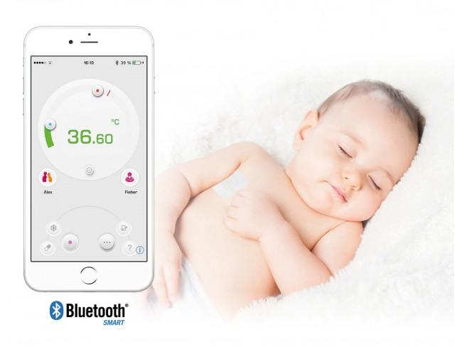 Medisana Bluetooth Fieberthermometer TM 735 mit Thermo App.