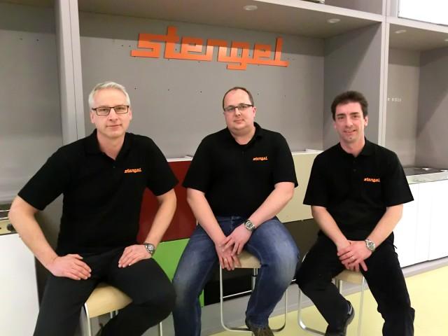 Neuorientierung bei Stengel-Küchen: Gerhard Baur, CEO/Geschäftsführer, Frank Schäffler, Kaufmännischer Leiter /CFO und Kai-Uwe Höpfner, CEO/Geschäftsführer