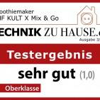 Überzeugte im Praxistest: KULT X Mix & Go von WMF.